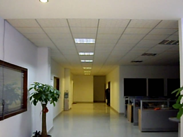 LED tube in office